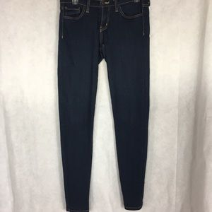 Flying monkey dark skinny jeans size 27